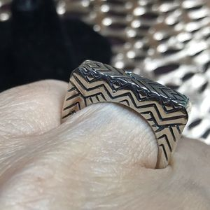 Sterling southwestern ring